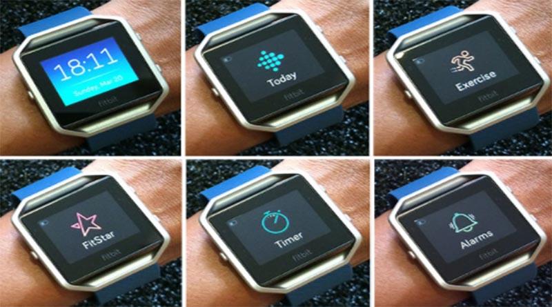 Упражнения Fitbit Blaze