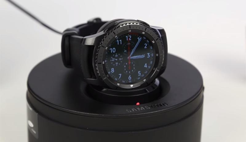 Автономность Samsung Gear S3