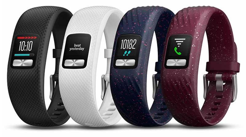 Трекер активности Garmin Vivofit 4: цветной экран и год без зарядки