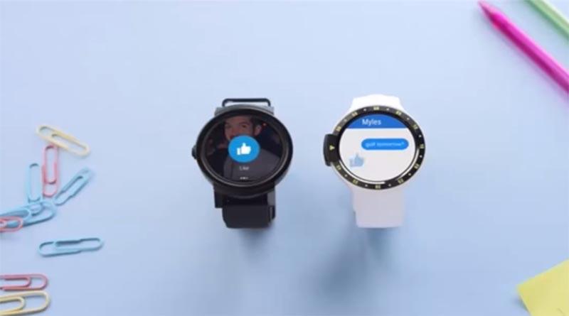 Дизайн Ticwatch S