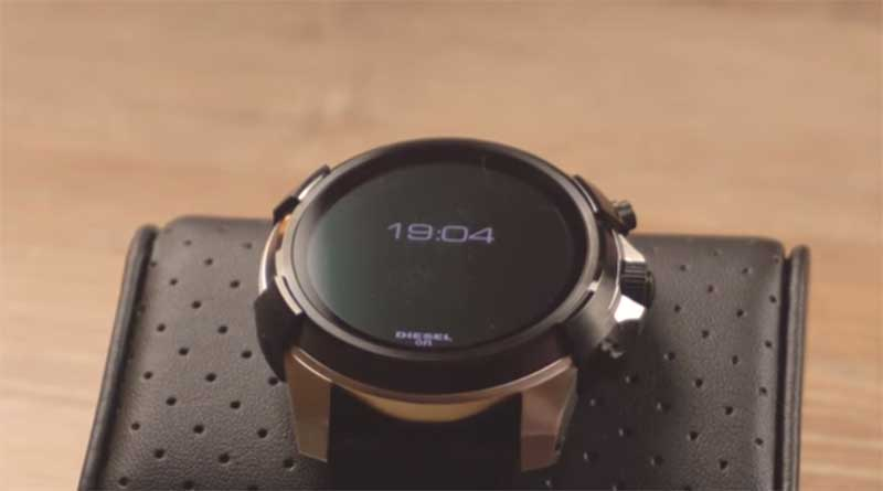 Diesel On Smartwatch - прекрасный пример этого