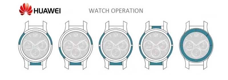 Смарт часы Huawei будут управляться сенсорным безелем