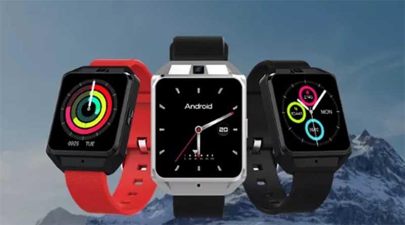Microwear H5 - стильные смарт часы на Android 6.0 с 4G 1
