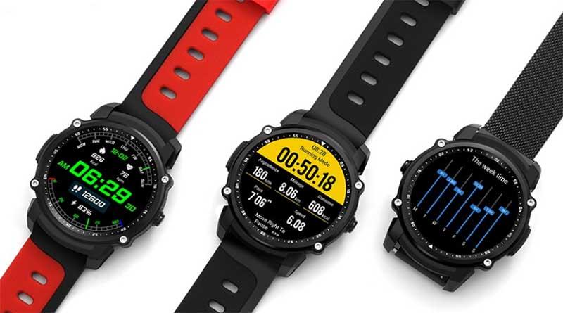 Kingwear FS08 очень стильные и качественные смарт часы