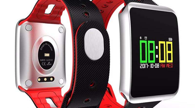 Смарт часы TF1 Smart Watch – идеальный партнер для здоровья и плавания 1