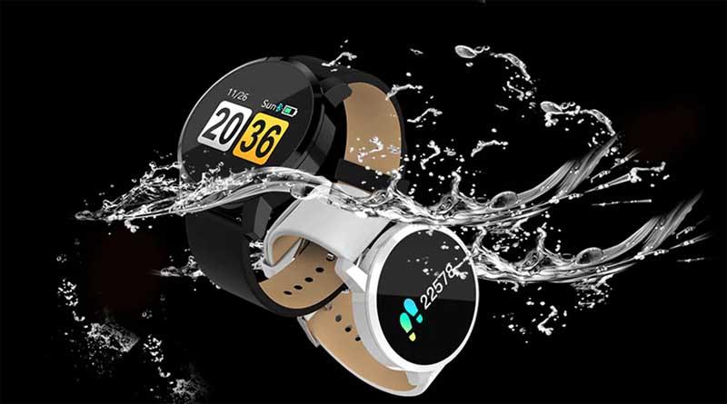 Newwear Q8 оборудован красочным OLED-дисплеем