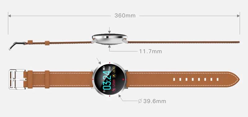 Смарт часы Alfawise S2: цена, характеристики, фото