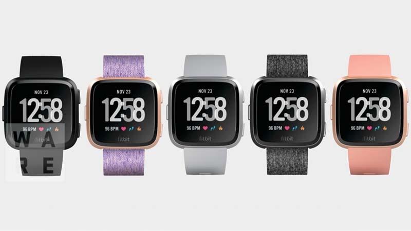 Новые смарт часы Fitbit