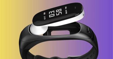 Earband V08: фитнес-браслет и Bluetooth-гарнитура в одном флаконе