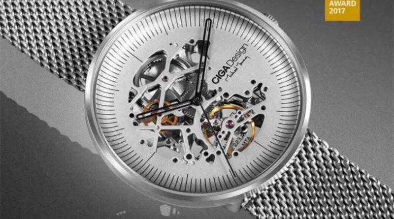 Ciga Design Mechanical Watch – новые механические часы от Xiaomi