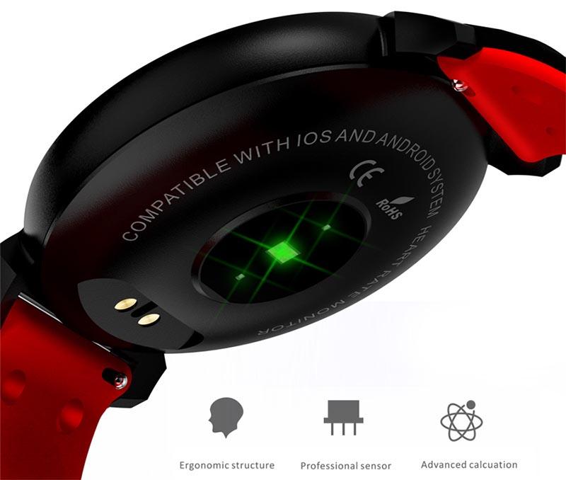 Время автономной работы K2 smartwatch
