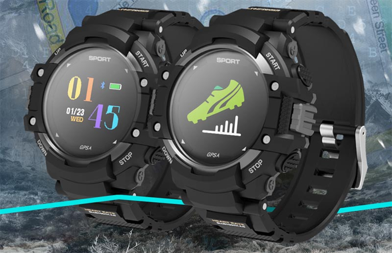 No.1 F7 GPS SmartWatch