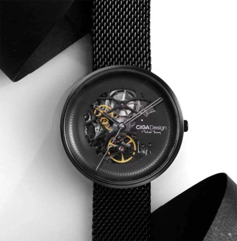 новые механические часы от Xiaomi