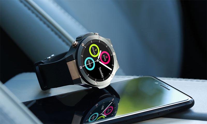 MicroWear H2: спортивные смарт-часы с функционалом смартфона