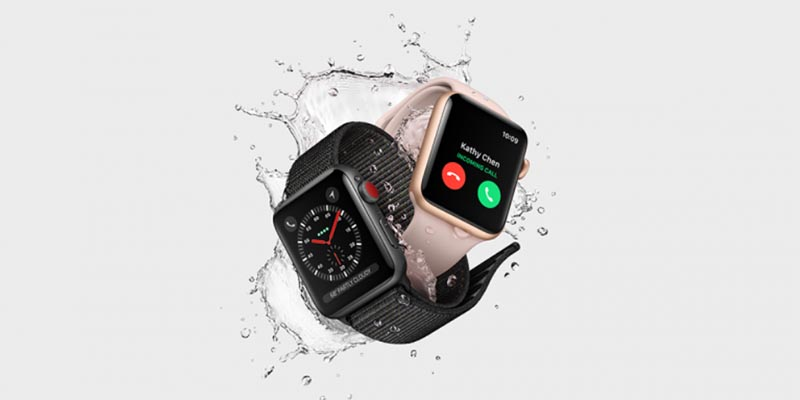 Apple Watch Series 3 без поддержки сотовой связи