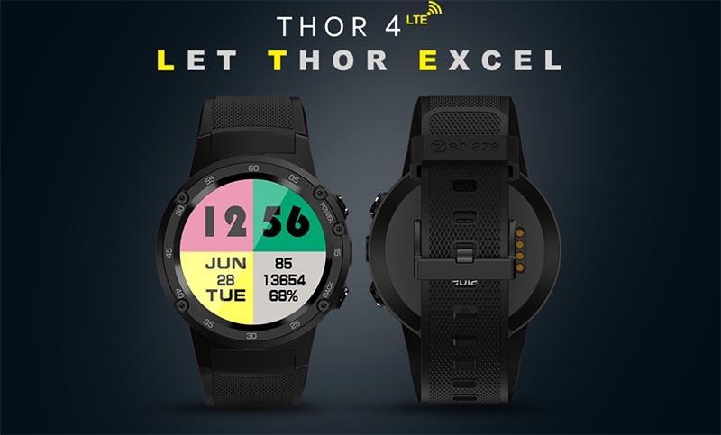 Характеристики и дизайн Zeblaze Thor 4