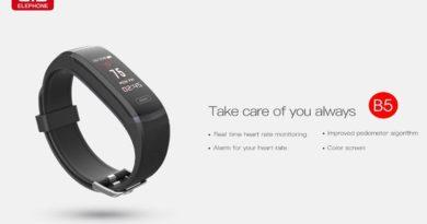 новый фитнес-браслет Elephone Band 5