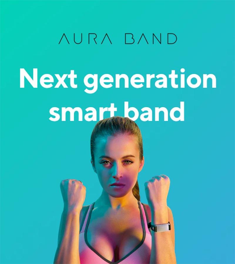 AURA Band фитнес-браслет нового поколения