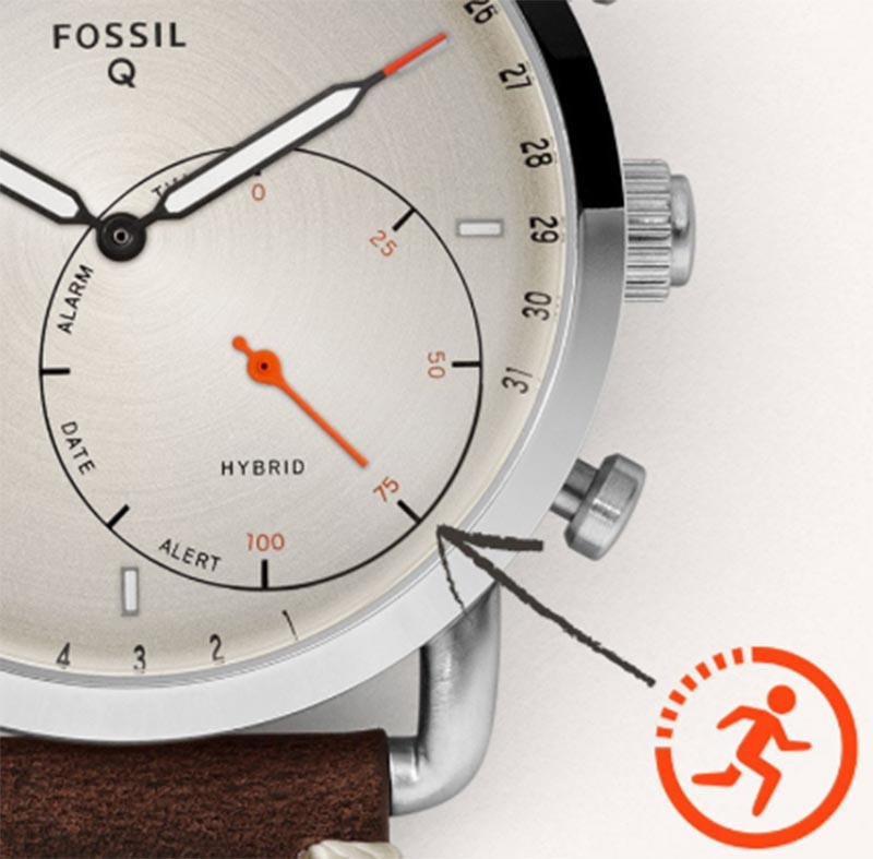 Fossil Q Gazer Hibrid