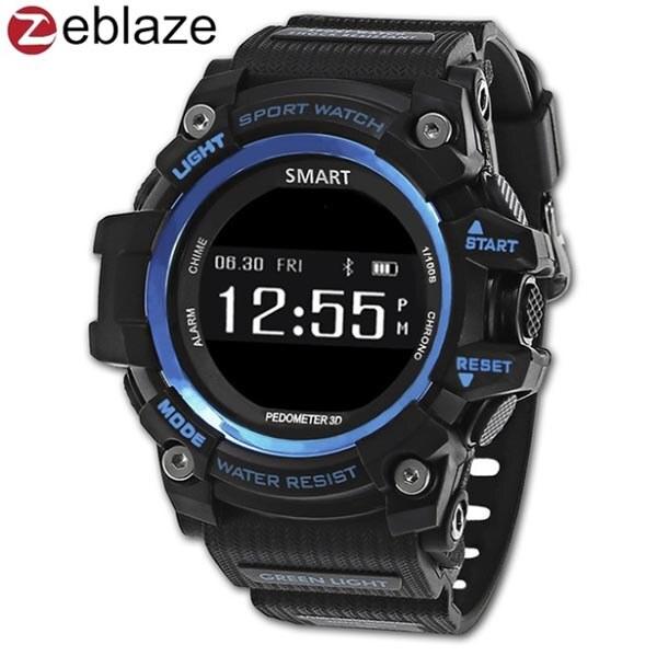 Защищенные умные часы Zeblaze Muscle HR