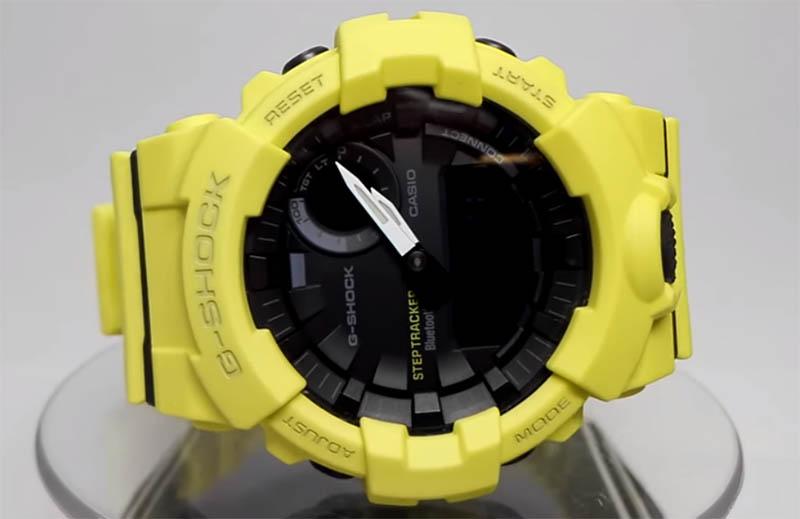 Casio G-SHOCK GBA800: дизайн