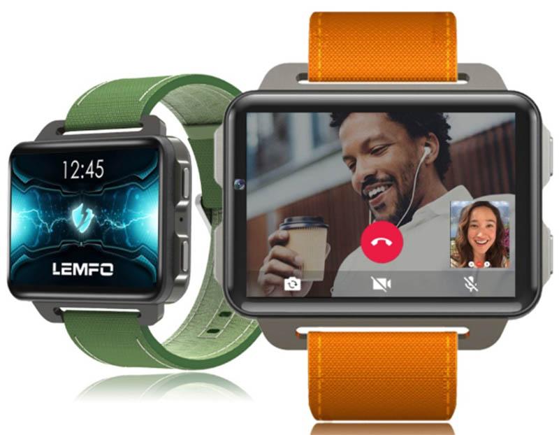 Lemfo выпустила новые умные часы-телефон Lemfo LEM4 Pro