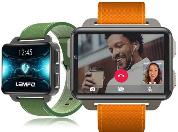 Смарт-часы телефон Lemfo LEM4 Pro Smartwatch