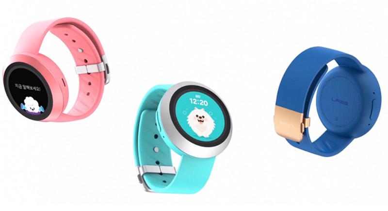Детские умные часы Naver Labs AKI: детский Samsung Gear S3