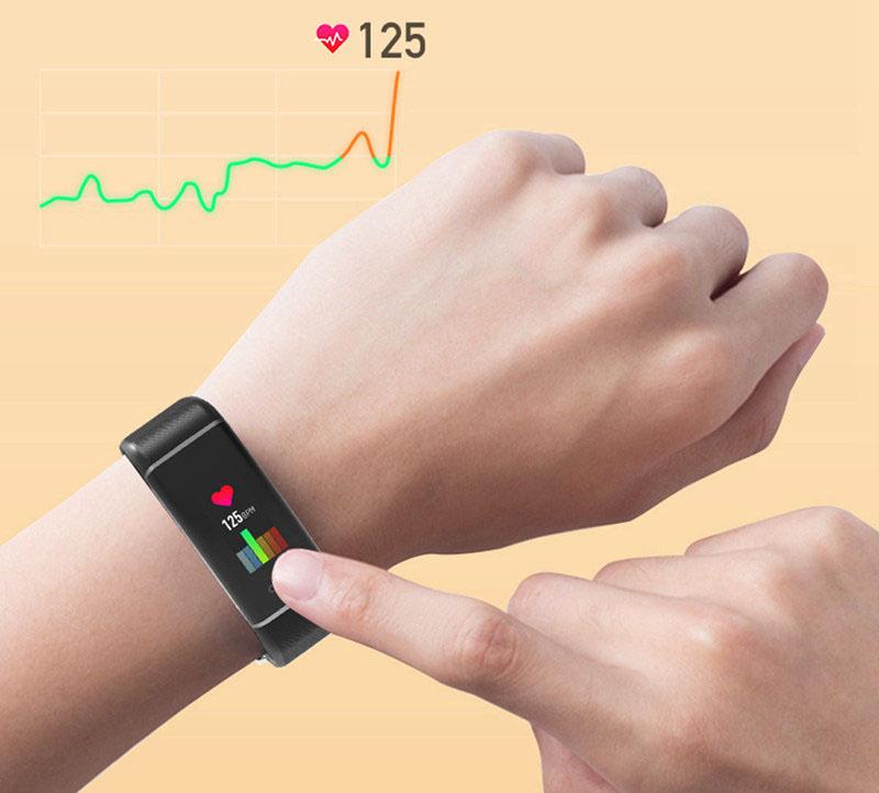 Elephone Band W7 – конкурент Xiaomi Mi Band 3 с GPS и цветным экраном