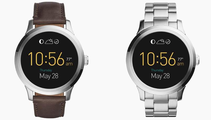 Fossil готовится выпустить сразу 9 моделей умных часов
