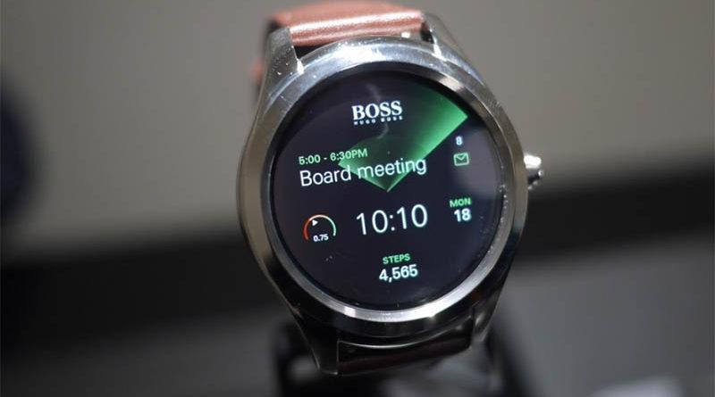 Первые умные часы от Hugo Boss, Hugo Boss Touch сняли с производства