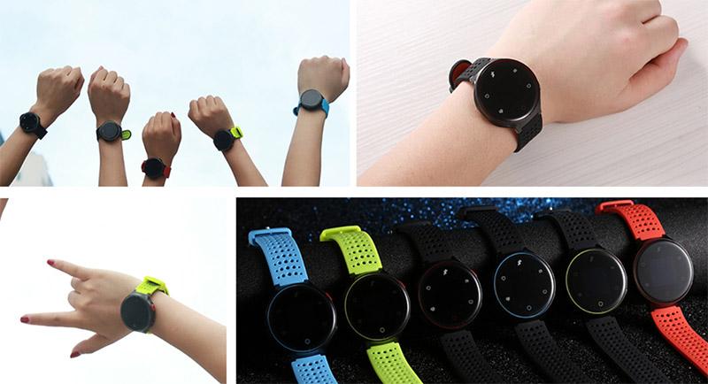 Microwear X2 Plus: недорогой фитнес-браслет с цветным экраном и измерением давления