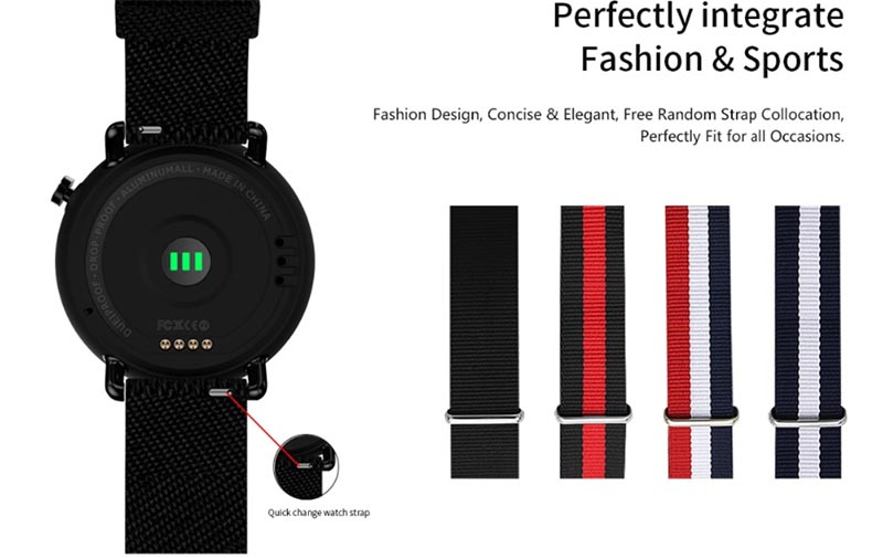 Lemfo LF22 – стильные смарт-часы с GPS и цветным экраном за 69,59$ 1