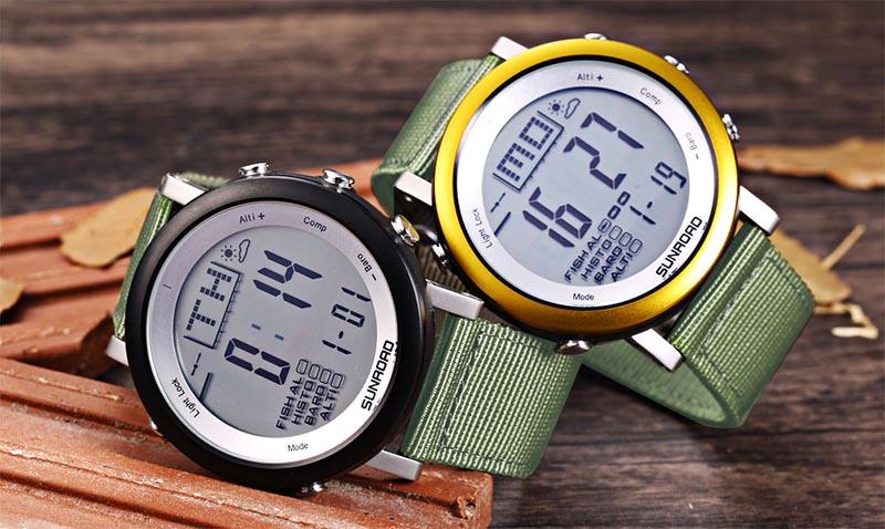 часы для рыбалки с барометром
