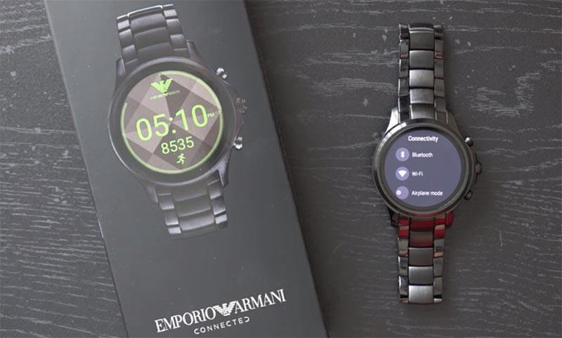 Дизайн Emporio Armani Connected