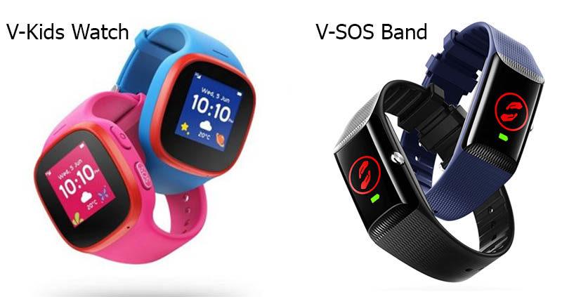 Vodafone выпустила GPS-трекер V-Kids для детей и V-SOS Band для взрослых