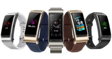 Стала известна цена фитнес-браслета с гарнитурой Huawei Talkband B5