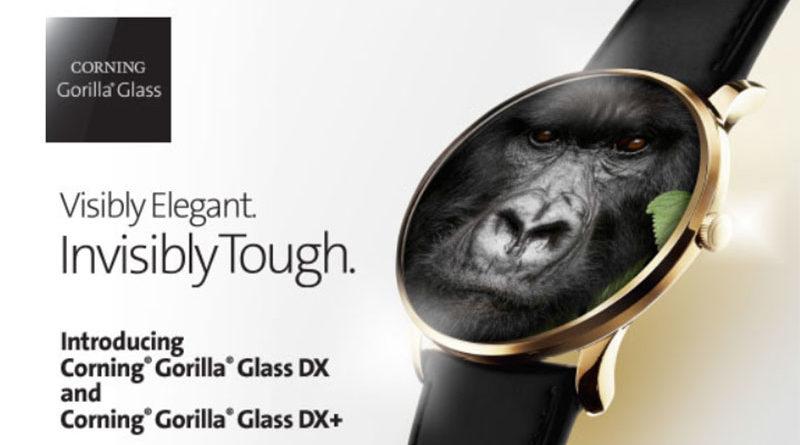 Corning выпустила защитные стекла для умных часов Gorilla Glass DX и DX +
