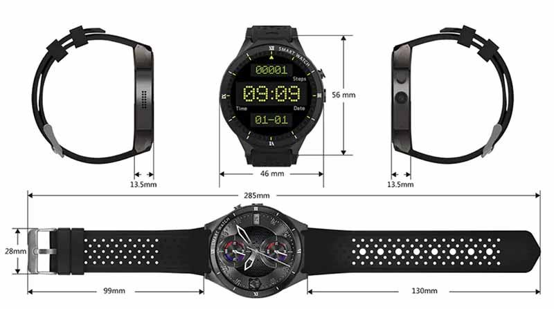 KingWear KW88 Pro: обновленная версия умных часов KingWear KW88 2