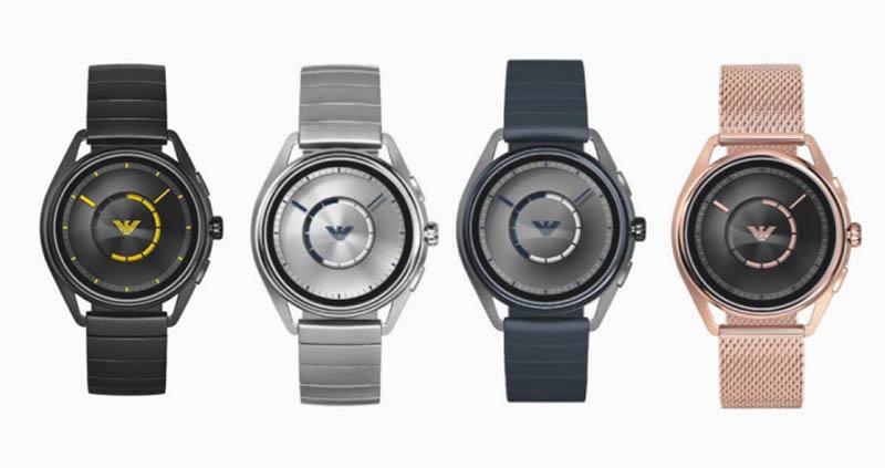 Умные часы Emporio Armani Connected 2018 обзавелись GPS, NFC и датчиком пульса