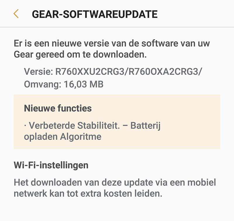 Обновление Samsung Gear S3 должно исправить проблему с перегревом и зарядкой