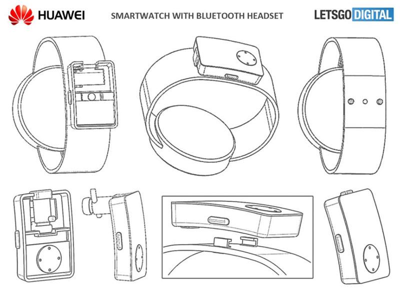 Новые часы Huawei могут иметь встроенную беспроводную гарнитуру