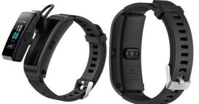 гибрид фитнес-трекера и Bluetooth-гарнитуры Talkband B5