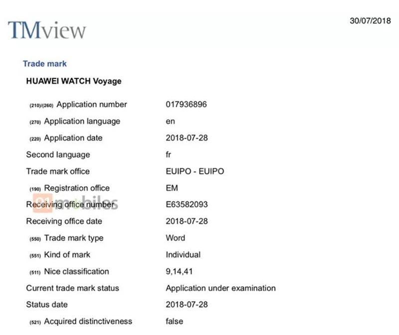 Huawei Watch Voyage