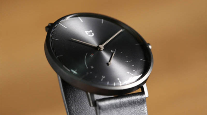 обзор Xiaomi Mijia Quartz Watch