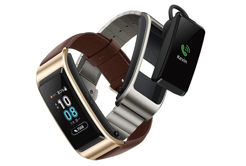 Гибрид фитнес-браслета и гарнитуры Huawei TalkBand B5