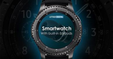 Часы Huawei с наушниками