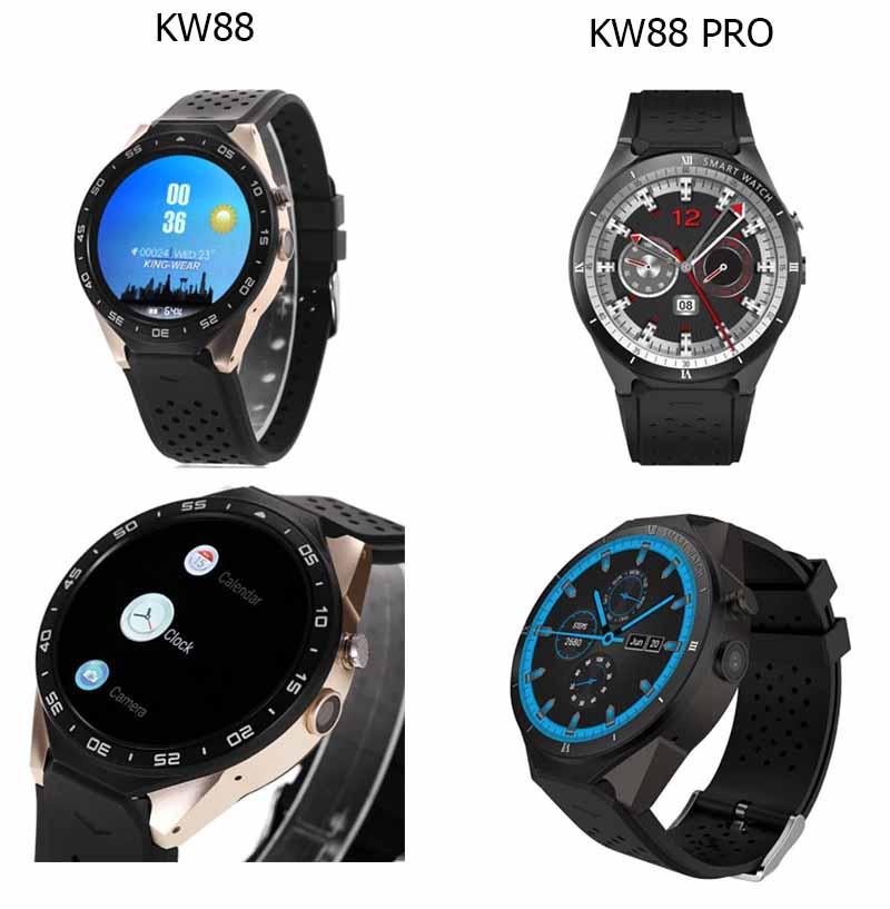 Дизайн и материалы KingWear KW88 и KingWear KW88 Pro