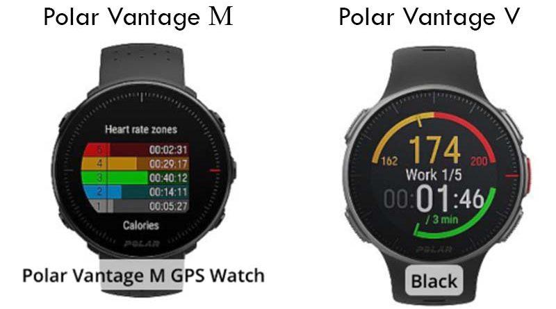 Polar Vantage V и Vantage M