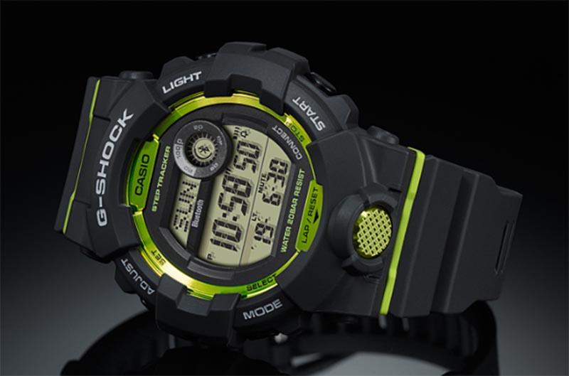 Casio G-Shock GBD-800 получили цифровой экран, шагомер и Bluetooth